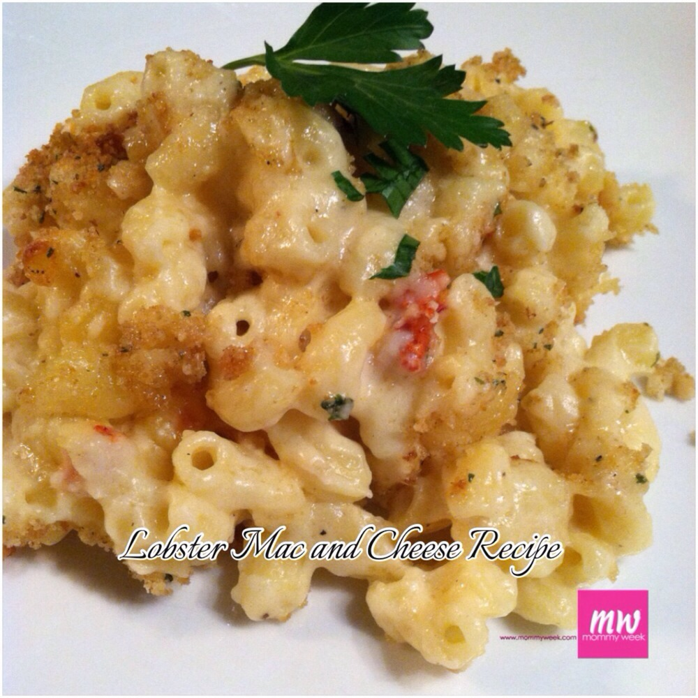 Lobster Mac and Cheese Recipe – Mommy Week™