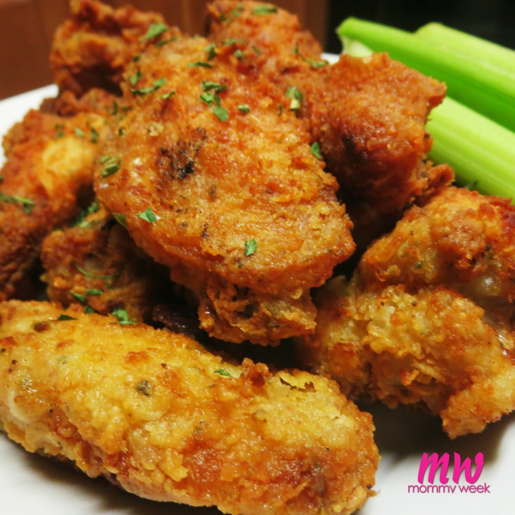 Easy Ranch Fried Wings Recipe