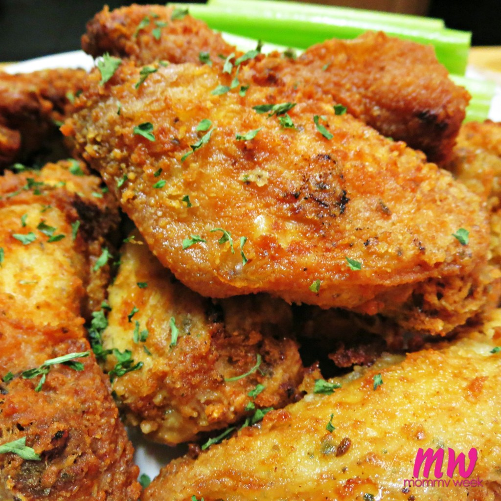 how to make chicken wings crispy without frying