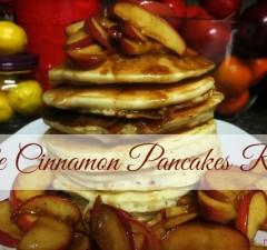Apple Cinnamon Pancakes Recipe