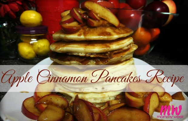 Apple Cinnamon Pancakes Recipe