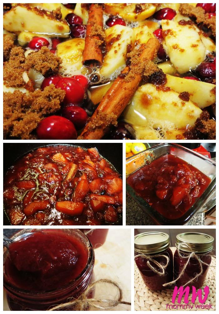 Cranberry Apple Butter Recipe