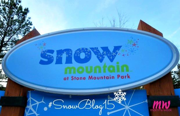 Snow Mountain at Stone Mountain Park #SnowBlog15