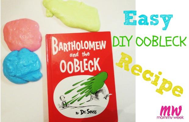 Easy DIY Oobleck Recipe