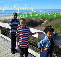 Imagine Spring with OshKosh B'Gosh