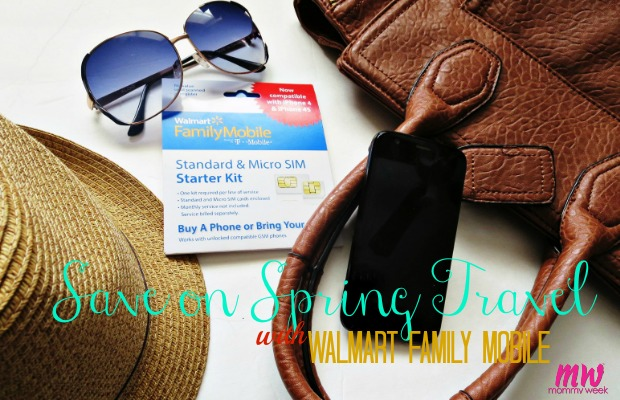 Save on Spring Travel with Walmart Family Mobile