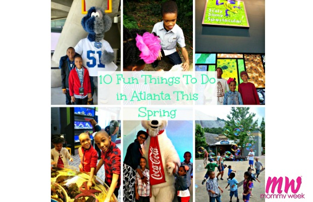 Ten Fun Things to Do in Atlanta This Spring