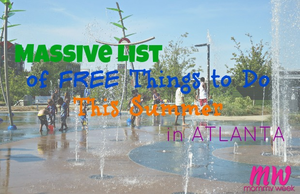 Massive List of Free Things to Do This Summer in Atlanta