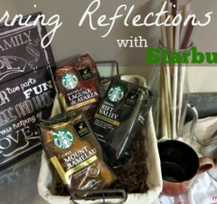 Morning Reflections with Starbucks