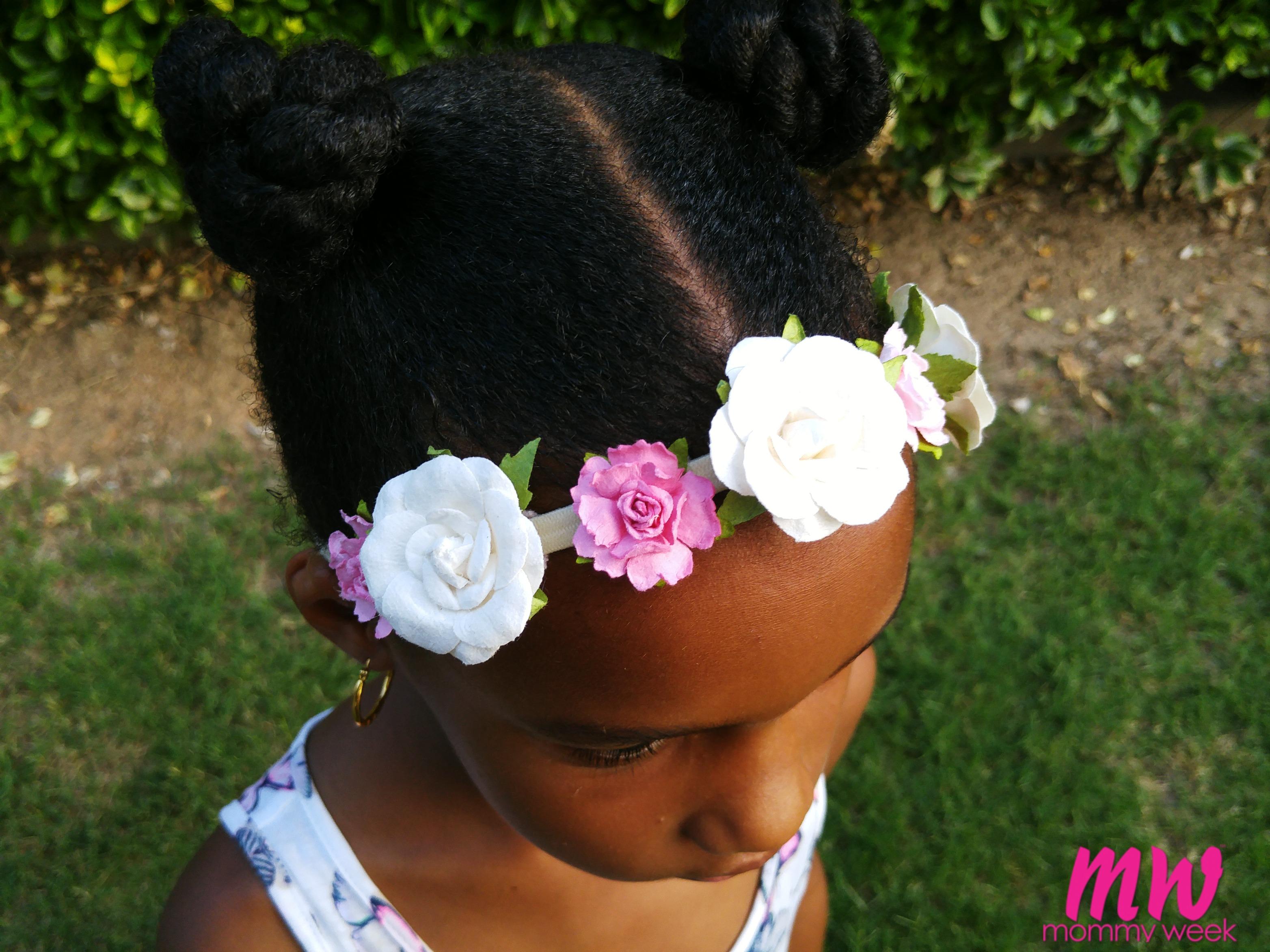 Diy Flower Crown Headband Mommy Week