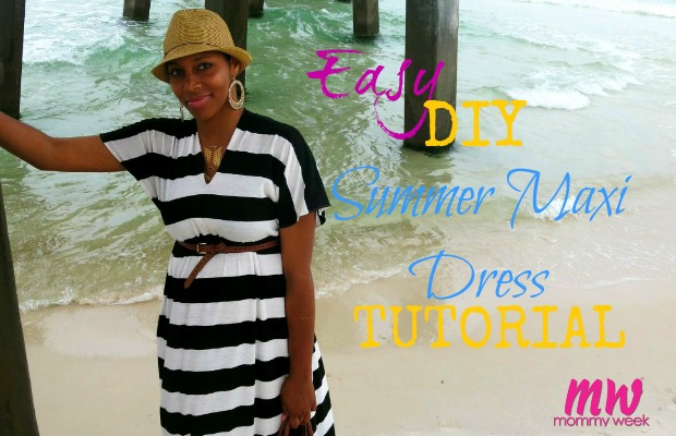 Easy DIY Summer Maxi Dress Tutorial