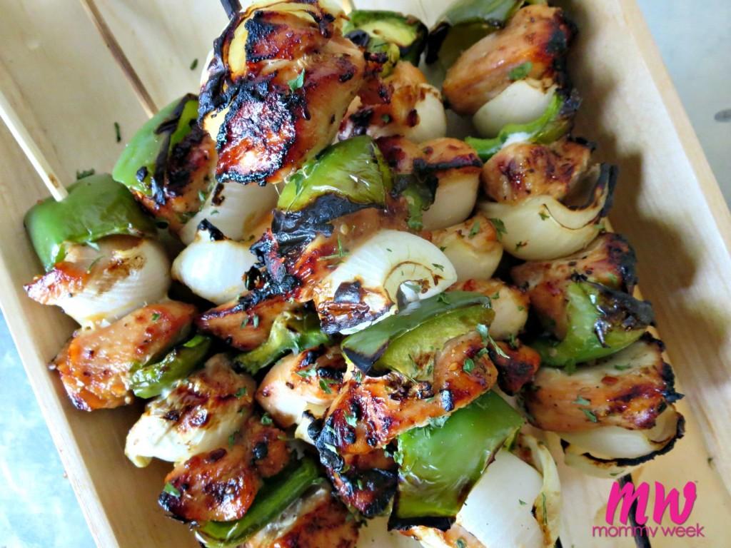 Grilled Teriyaki Chicken Kebabs Recipe