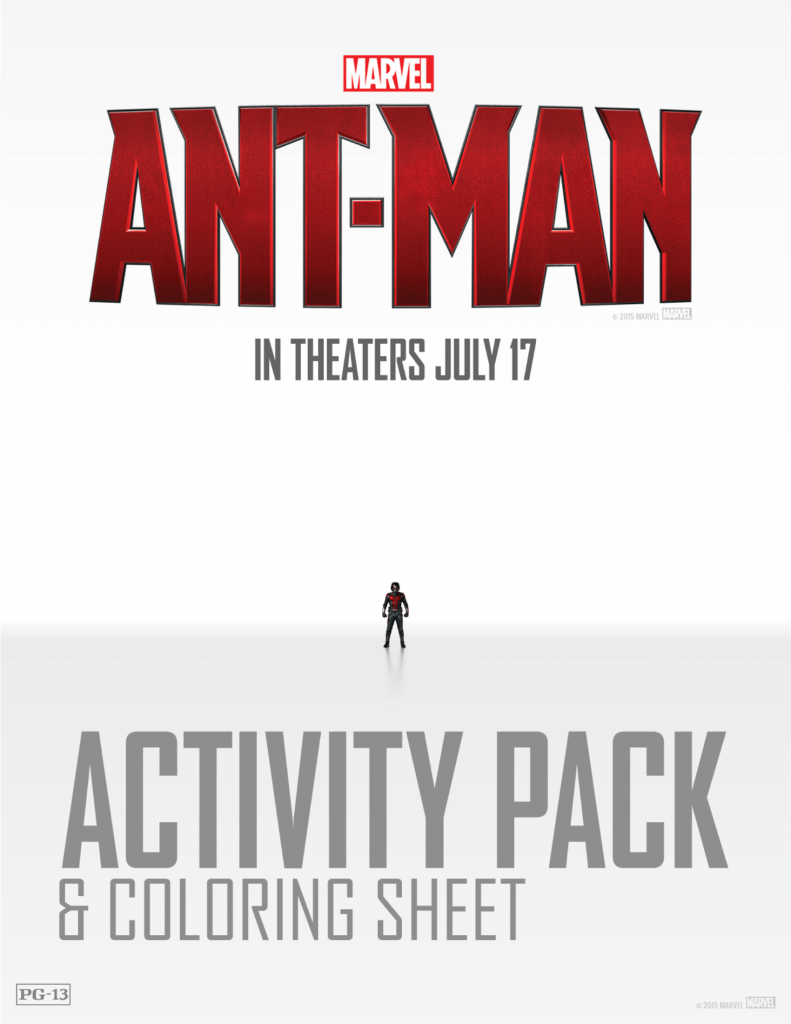 ANT-MAN Activity Pack