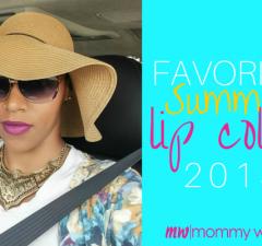 Favorite Summer Lip Colors 2015