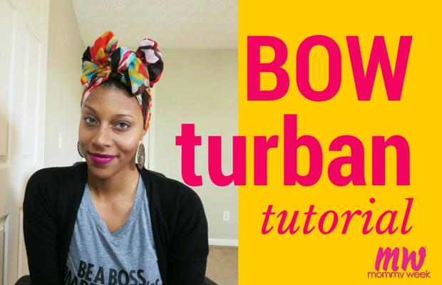 Bow Turban Tutorial