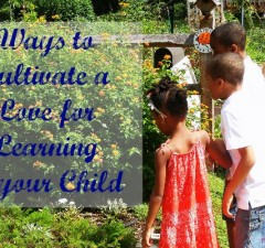 Ways to Cultivate a Love for Learning in Your Child
