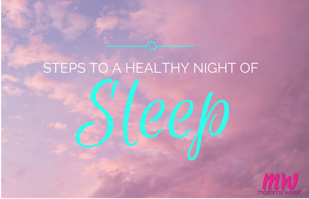 Steps to a Healthy Night of Sleep